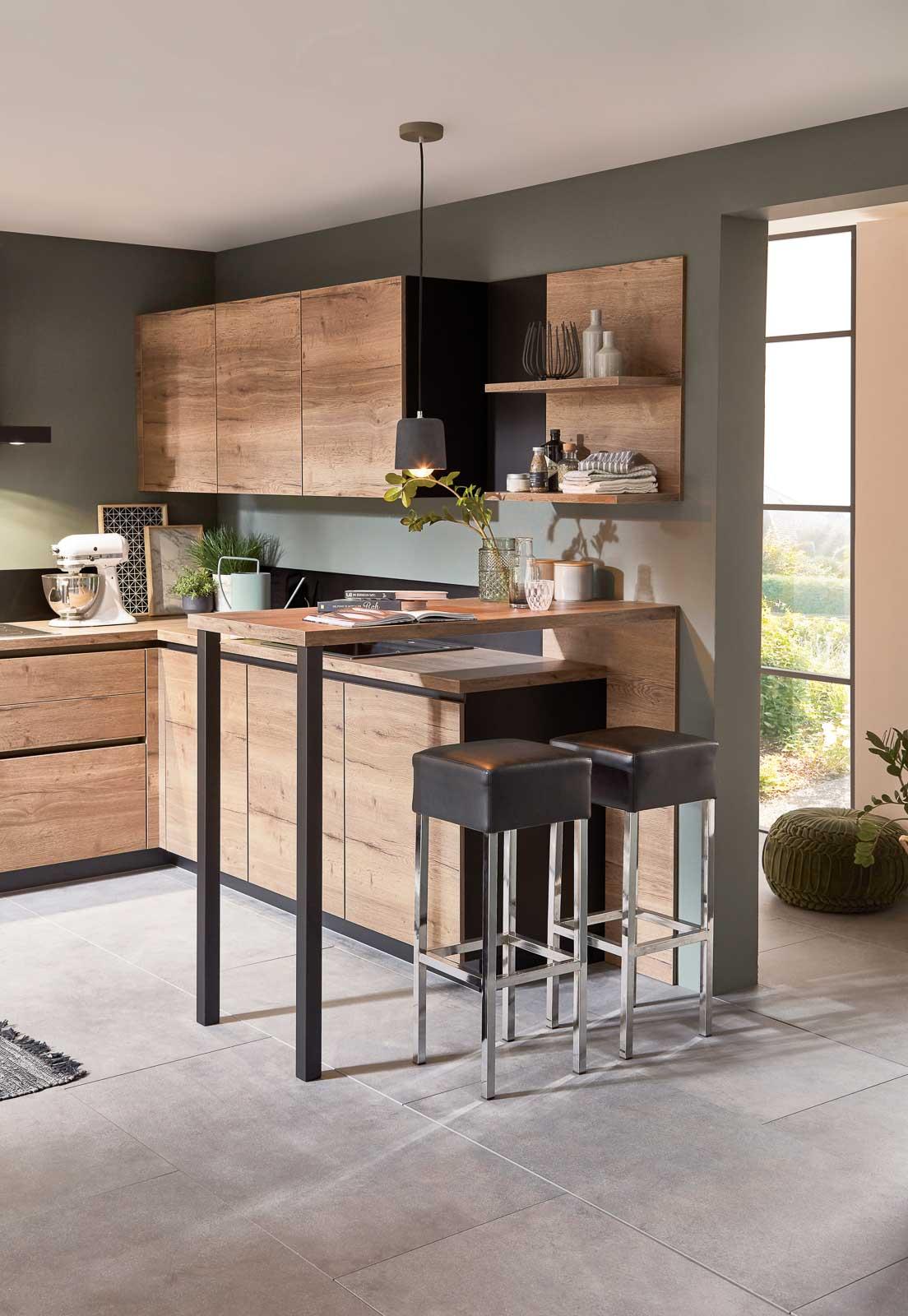 Nobilia Küchen - Modell Structura - 402